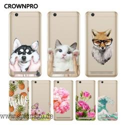 iPhone Hüllen mit süßen Motiven Katze, Wolf, Rose, Blumen