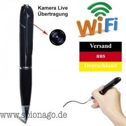 HD Stift Kamera Live Übertragung über WLAN Und 3G Spy Cam Unsichtbar Kabellos