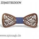 Holzfliege Herren fein und elegant - Hochzeit Holz Fliege Anzug Krawatte Bart