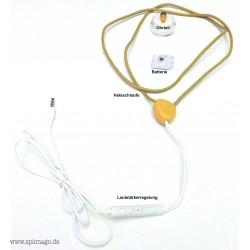 Kopfhörer Spy Headset Nr.1 Prüfung Spicker UNI ABI KOMPLETT