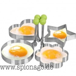 Professionelle Edelstahl Spiegelei Pfannkuchen Form Ring Küche Edelstahlküche Pfanne