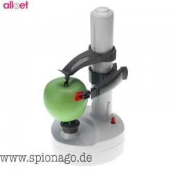 Automatische Elektrische Edelstahl Gemüse Obst Apfel Kartoffelschäler Auto Drehen Peeler Maschine mit Klinge Schäler