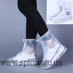 Wasserdichte Regen Schuhe Abdeckung wiederverwendbare Stiefel Unisexüberschuhe bedeckt rutschfeste Regen Schuhe