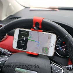 GENIAL Universal Auto Lenkrad Clip Halterung für iPhone 8 7 7 Plus 6 6 s Samsung Xiaomi Huawei Handy