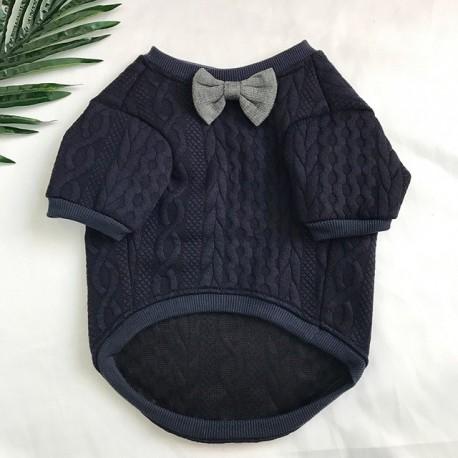 Bulldogen Strick Pullover sehr niedlich Französisch Kleidung Winter Mops Kleidung Hund Bekleidung Haustier Outfit Schnauzer Coat