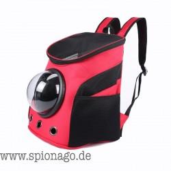 Haustier Rucksack für Hund Katze usw. Raum Kapsel Haustier-Spielraum Schulter-Rucksack Reise