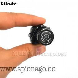 Nano Mini Micro Kleinste tragbare HD Kamera 2.0 Mega Pixel Video Audio Spy Camcorder 480P