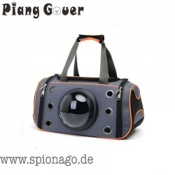 Premium Tragbare Haustier Tasche für Hund Katze - Träger Reisen Umhängetasche Space Kapsel Tier Handtasche