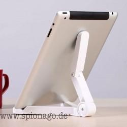 Universal faltbare Smartphone Tablet Halterung Stand Stativ iPhone iPad Auflage-Tablet
