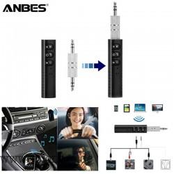 Genial Mini Bluetooth Empfänger Audio Sender 3,5 mm Klinke Freisprecheinrichtung Bluetooth Car Kit Musik Adapter