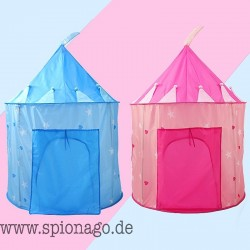 Kinderspielhaus Spielzeug Zelt Prinzessin Schloss Spiel-Zelt Kinderzelt Geburtstags-Geschenk Happy Burg