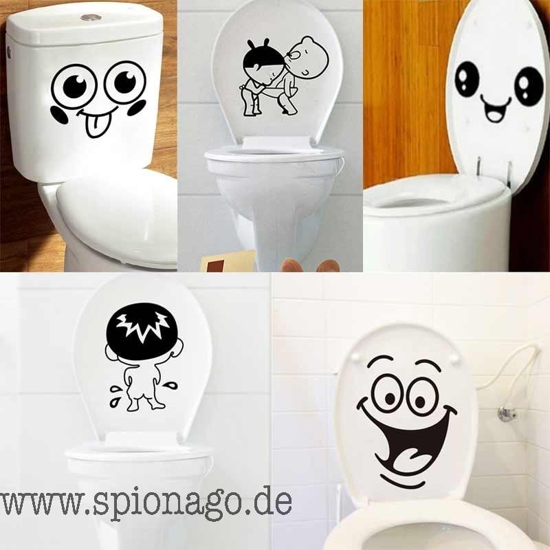 Badezimmer Wand-Aufkleber Kloschlüssel Aufkleber WC ...