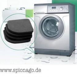 1Set Multifunktionale Kühlschrank Anti Vibrations Matten Auflage für Waschmaschine Shock Pads Anti-Rutsch-Matten Set Bad-Accesso
