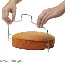 Premium Edelstahl Draht-Kuchen Schneider Messer Pizzateig Trimmer Küchen Zubehör Teig