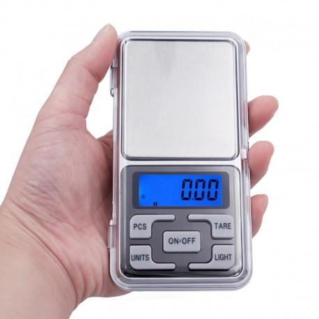 Präzisionswaage 500g x 0.1g mini elektronische Digital Schmuck Waage Tasche LCD-Anzeige mit Kleinkasten